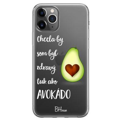 Chcela By Som Byť Avokádo Kryt iPhone 11 Pro Max