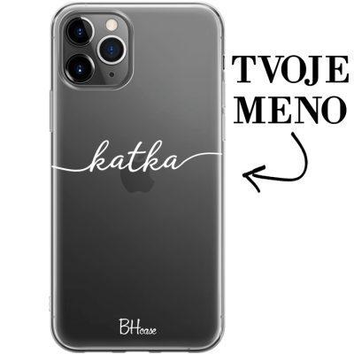 Kryt s menom pre iPhone 11 Pro Max