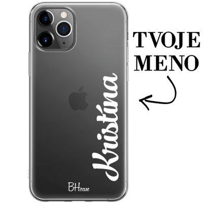 Kryt s vertikálnym menom pre iPhone 11 Pro Max
