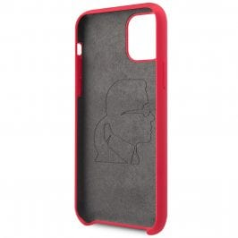 Karl Lagerfeld Iconic Full Body Silicone Red Kryt iPhone 11