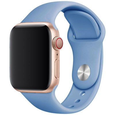 Silikónový Náramok Apple Watch 42/44mm Cornflower Blue Large