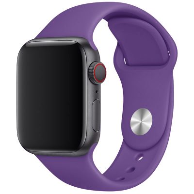 Silikónový Náramok Apple Watch 42/44mm Deep Purple Large