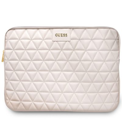"""Guess Quilted Kryt Notebook 13"""" Pink"""
