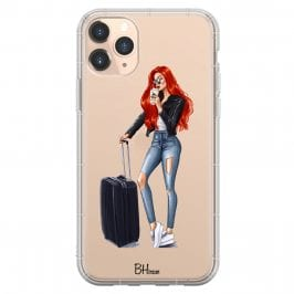 Woman Redhead With Baggage Kryt iPhone 11 Pro
