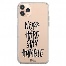 Work Hard Stay Humble Kryt iPhone 11 Pro