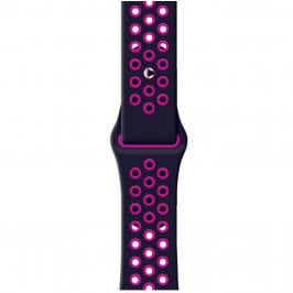 Sport Náramok Apple Watch 38/40mm Black/Pink Small