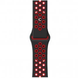Sport Náramok Apple Watch 38/40mm Black/Red Small