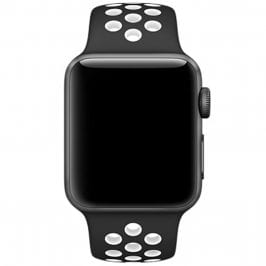 Sport Náramok Apple Watch 42/44mm Black/White Large