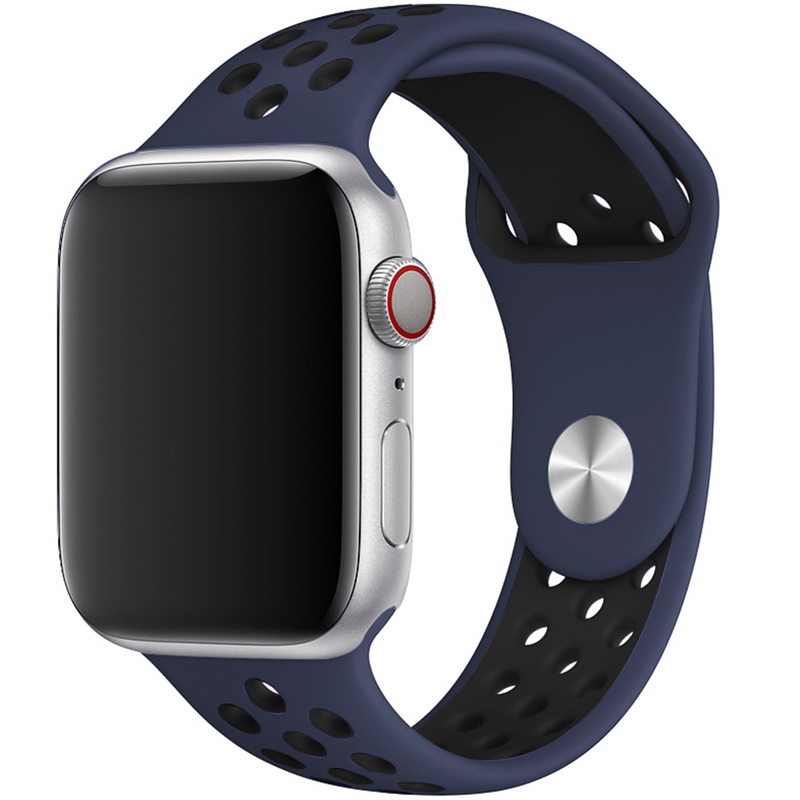 Sport Náramok Apple Watch 42/44mm Midnight Blue/Black Large