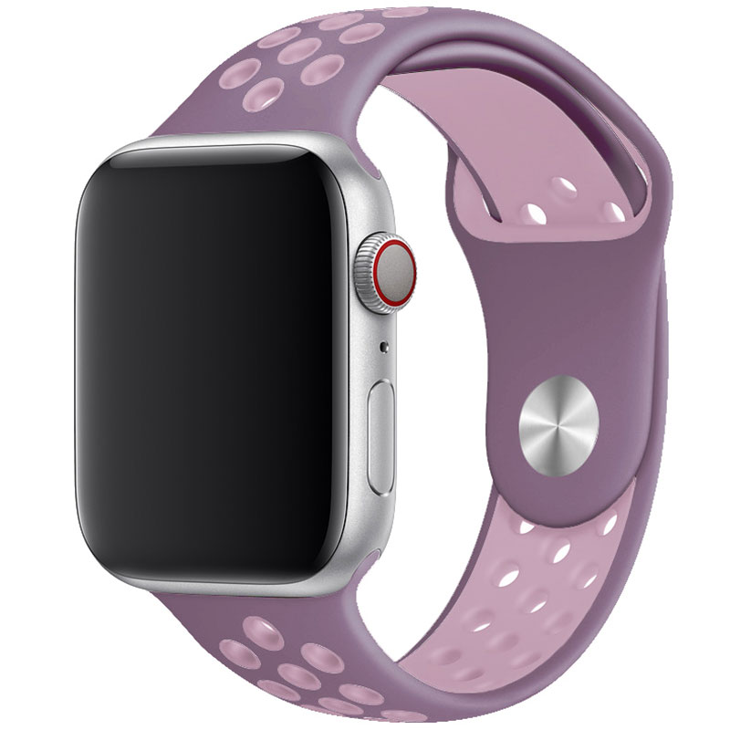 Sport Náramok Apple Watch 42/44mm Purple/Gray Large