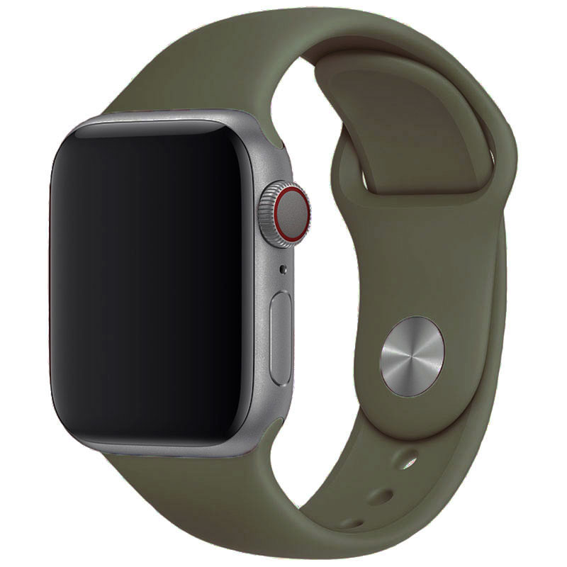 Silikónový Náramok Apple Watch 42/44mm Khaki Large