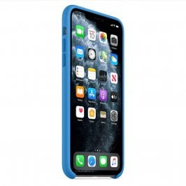Apple Surf Blue Silicone Kryt iPhone 11 Pro