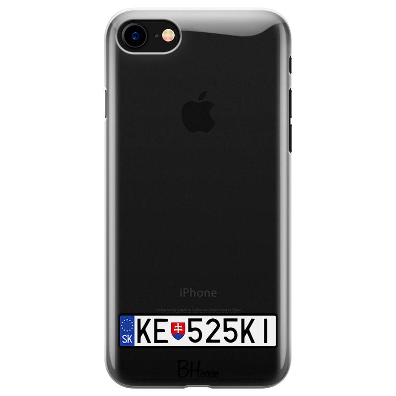 EČV Auto Kryt iPhone 8/7/SE 2 2020