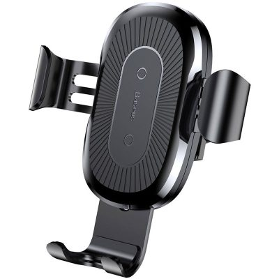 Baseus Gravity Car Mount Wireless Charger Black