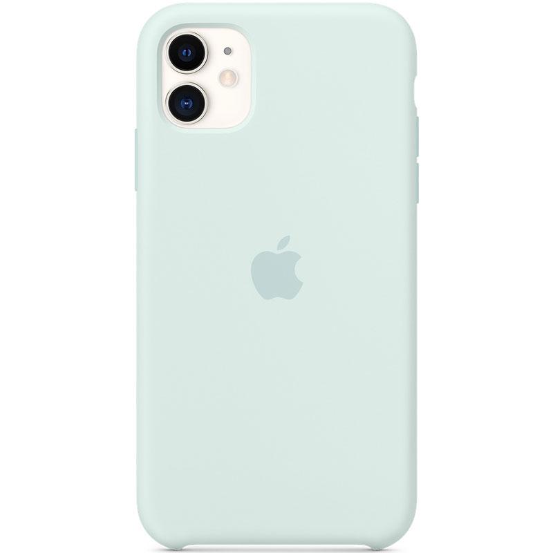 Apple Seafoam Silicone Kryt iPhone 11