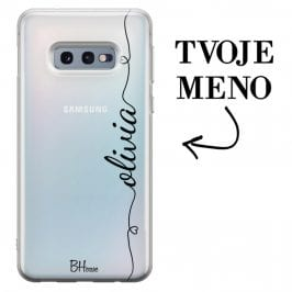 Kryt so srdiečkom a menom pre Samsung S10e