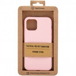 Tactical Velvet Smoothie Pink Kryt iPhone 11 Pro