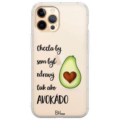 Chcela By Som Byť Avokádo Kryt iPhone 12 Pro Max