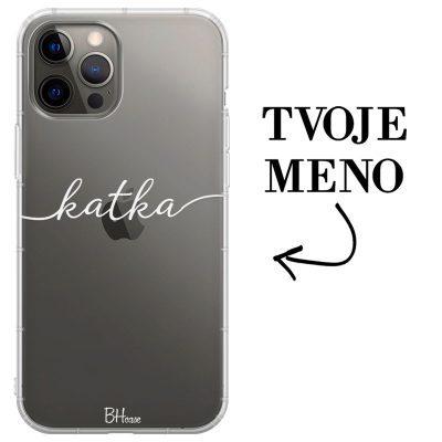 Kryt s menom pre iPhone 12 Pro Max