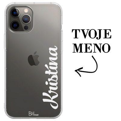 Kryt s vertikálnym menom pre iPhone 12 Pro Max